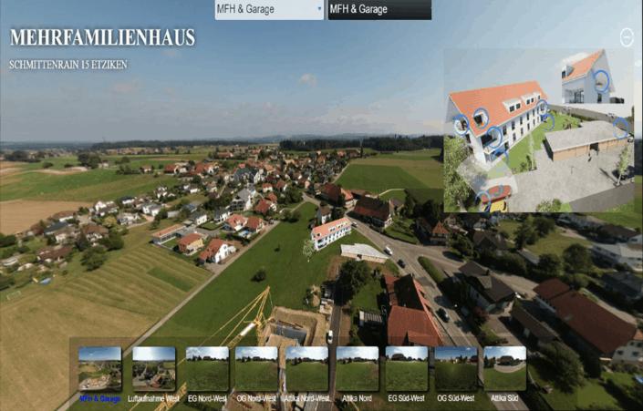 Virtuelle Tour Beispiel Mehrfamilienhaus