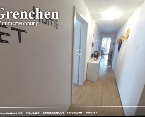Virtuelle Tour Beispiel Grenchen 3-Zimmer Wohnung
