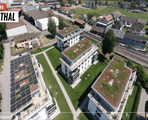 Virtuelle Tour & Luftaufnahme Beispiel Byfangpark