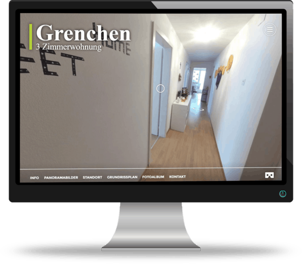 Virtuelle Tour Referenz Grenchen